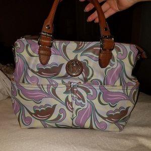 Relic Purple Paisley Handbag
